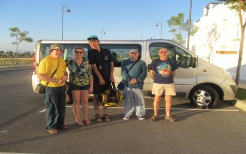 Supported holidays learning disabilities transport